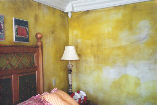 Faux Finish - Yellow Room