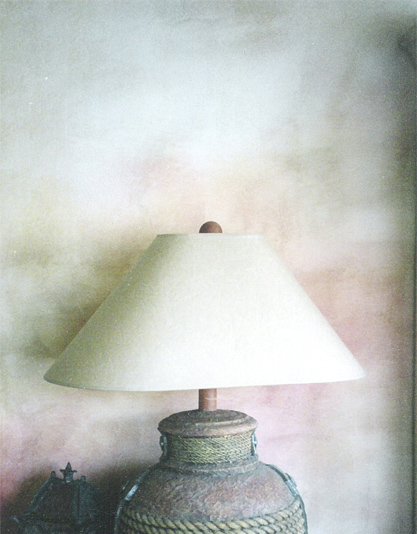 Faux Finish - Bedroom Lamp