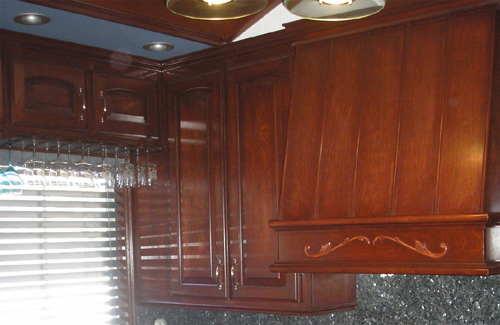 Faux Finish - Kitchen Cabinets